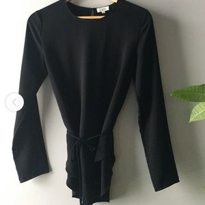 Wilfred Long Sleeve Wrap Top